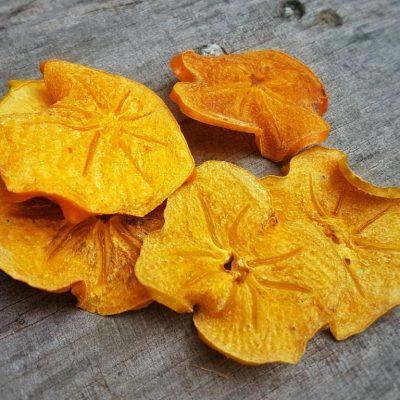 פירות מיובשים טבעיים - אפרסמון
