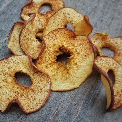 פירות מיובשים טבעיים - תפוח קינמון