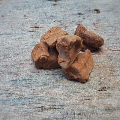 ג'ינג'ר מצופה שוקולד מריר