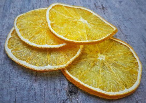 פירות מיובשים טבעיים - תפוז צהוב
