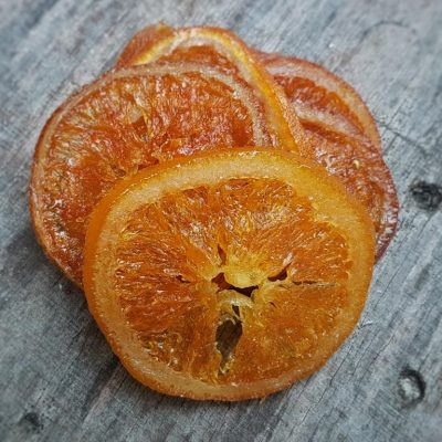 פירות מיובשים טבעיים - תפוז אדום