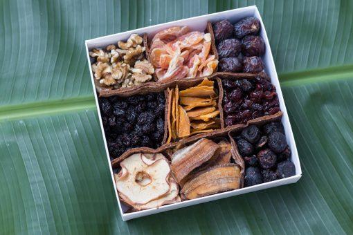 לדר, פירות יבשים, פירות מיובשים